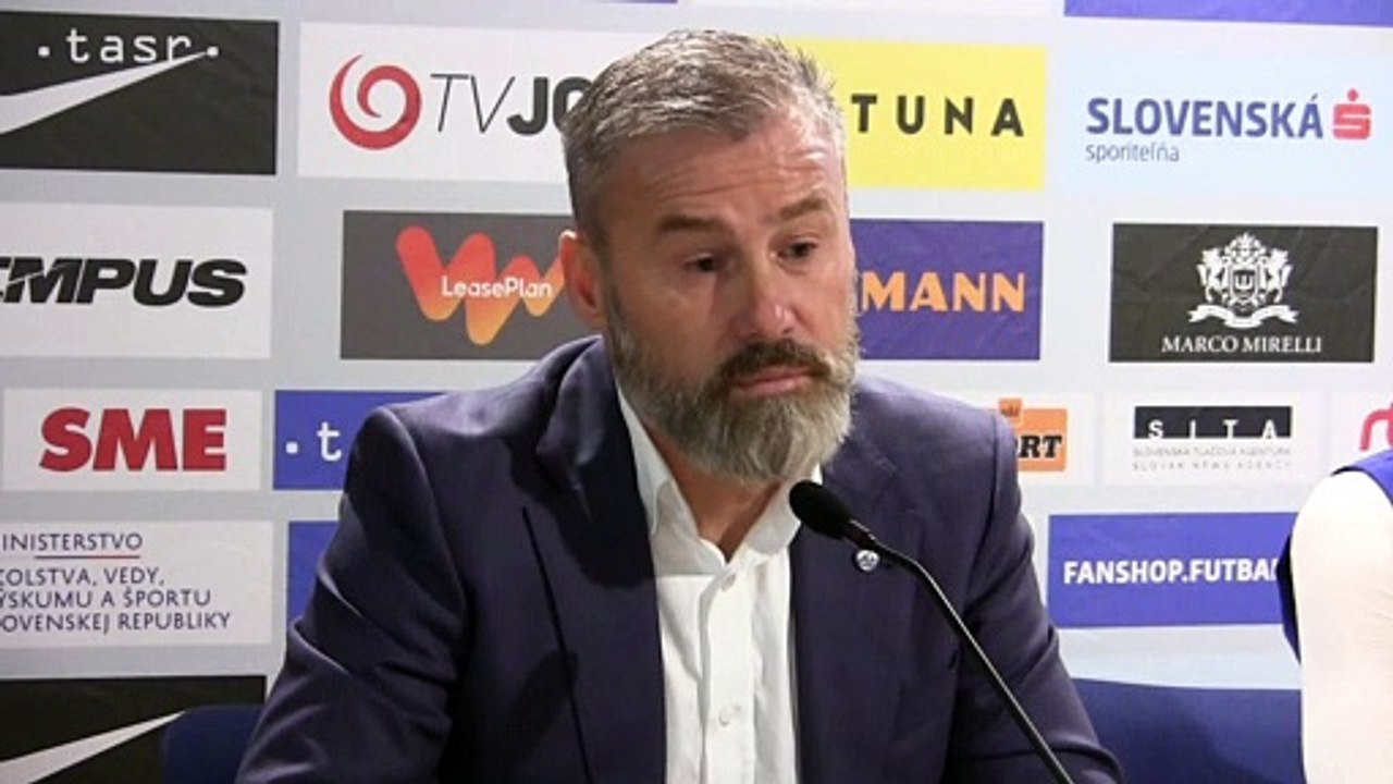 """Tréner Pavel Hapal - """"Do Chorvátska ideme jednoznačne s cieľom vyhrať, iný výsledok nám nič nerieši"""""""