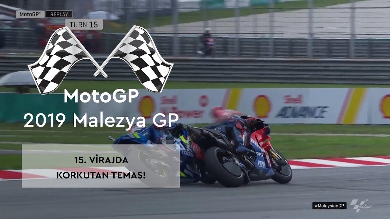 Korkutan Temas! (MotoGP 2019 - Malezya Grand Prix)