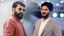Dulquer Salman talks about Co-acting with Mammooty   Filmibeat Malayalam