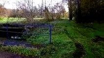 Vuillafans : Enedis entreprend un forage dirigé de 170 mètres entre le canal et le ruisseau à  Moulin Grand-Pierre