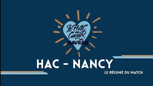 HAC - Nancy (1-1) : le résumé vidéo du match