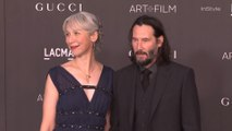 Keanu Reeves Walked the Red Carpet With Girlfriend Alexandra Grant for the First Time, Ever