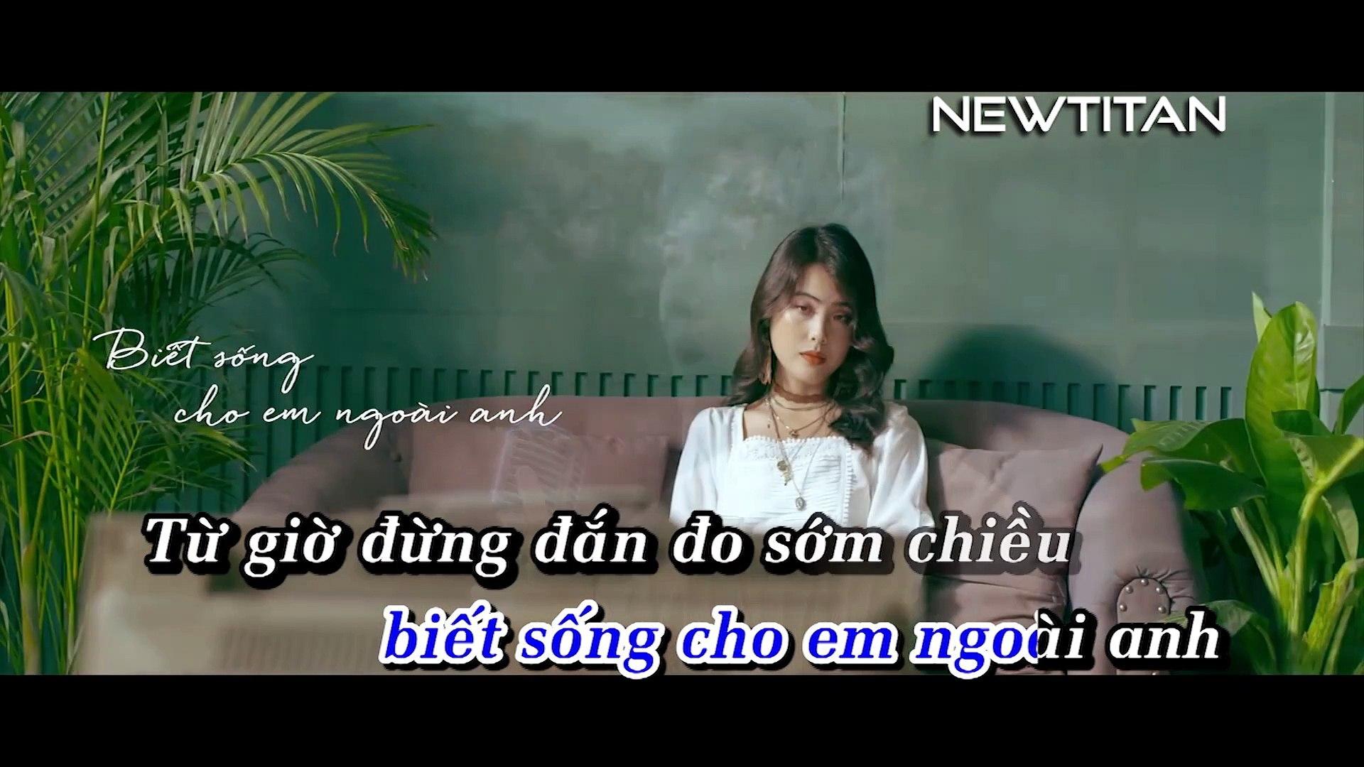 [Karaoke] Em Muốn Ta Là Gì - Thanh Hưng Idol [Beat]