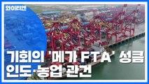 기회의 문 열리는 '메가 FTA' 시장...인도와 농업 '관건' / YTN