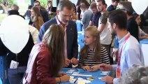 La princesa Leonor participa en un taller de emprendedores