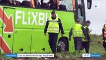 Transports : ces accidents de bus qui inquiètent