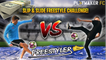 Freestyler   £1000 Slip & Slide Freestyle Challenge vs. Kieran Brown