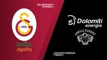 Galatasaray Doga Sigorta Istanbul - Dolomiti Energia Trento Highlights | 7DAYS EuroCup, RS Round 6