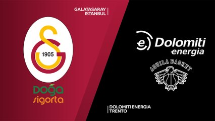 7Days EuroCup Highlights Regular Season, Round 6: Galatasaray 76-81 Trento