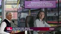 Busca Del Mazo garantizar seguridad de usuarias de L3 del Mexibús
