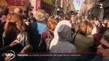 Marseille : la mairie est propriétaire de logements insalubres