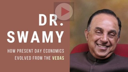Dr. Swamy talk in International Veda Conference on the Economy and the Vedas