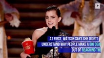 Emma Watson Is Calling Herself 'Self-Partnered'