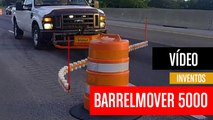 [CH] Muevebarreras automático que retira los conos de las carreteras