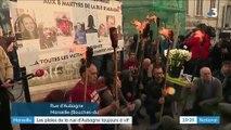 Marseille : les plaies de la rue d'Aubagne sont toujours à vif