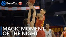7DAYS Magic Moment of the Night: Zach Auguste, Galatasaray Doga Sigorta Istanbul