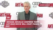'Ant-Man' Hints From Michael Douglas