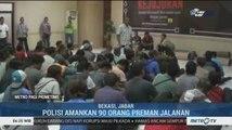 Polres Metro Bekasi Kota Amankan 90 Orang Preman Jalanan