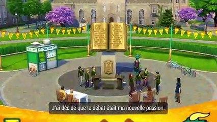 Les Sims 4 À la fac - bande-annonce de gameplay