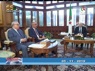 Journal d'information du 19H_ 05-11-2019 Canal Algérie