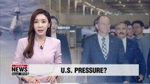 Top U.S. diplomat visits Seoul ahead of termination of S.Korea-Japan military intel sharing pact