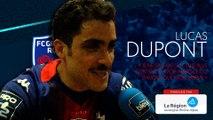 Lucas Dupont : « Je suis le Olivier Giroud du FCG, et ça me va bien »