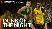 Endesa Dunk of the Night: Jock Landale, Zalgiris Kaunas