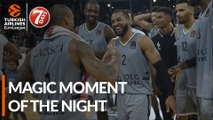 7DAYS Magic Moment of the Night: Jordan Taylor, LDLC ASVEL
