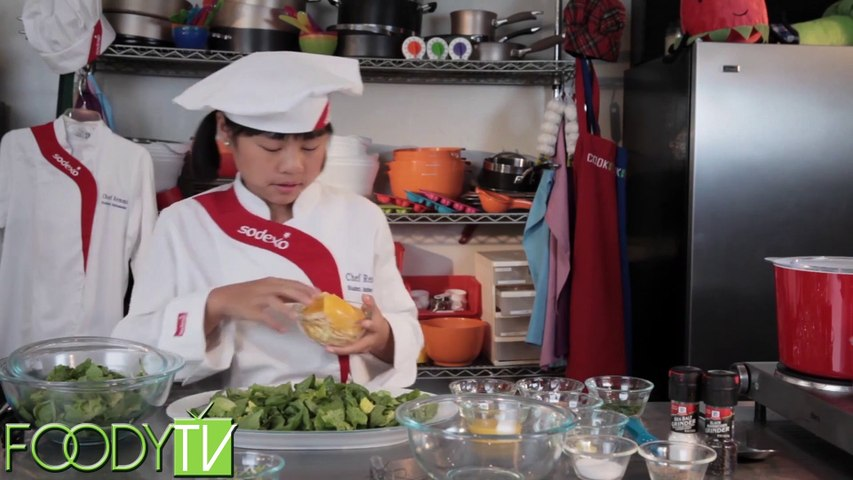 Cook Time With Remmi - Orange Salad with Ginger Dressing