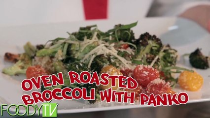 Cook Time With Remmi - Oven Roasted Broccoli with Panko