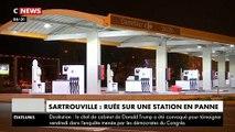 Les images des dizaines d'automobilistes qui profitent d'un bug dans une station service à Sartrouville pour se servir gratuitement