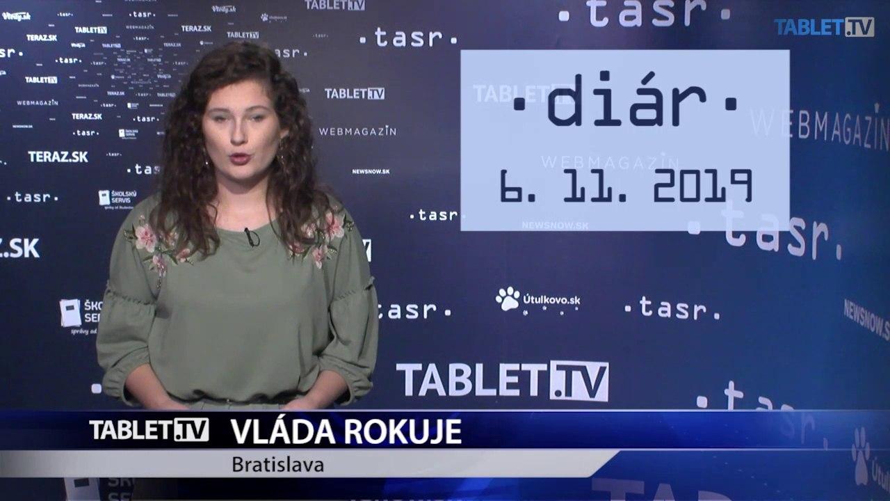 DIÁR: Vláda prerokuje Súhrn výročnej správy Slovenskej republiky za rok 2018