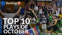7DAYS EuroCup, Top 10 Plays of October!