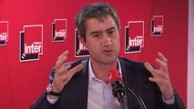 """François Ruffin (LFI) : """"Chez les jeunes, qui me marque, c'est leur niveau de conscience écologique. Mais à côté de ça, il y a un niveau politique qui n'est pas le même, qui fait qu'on a une grande candeur"""""""