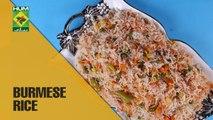 Tasty Burmese Rice | Dawat | MasalaTV Show | Abida Baloch