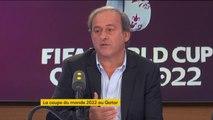 """Coupe du monde au Qatar : Michel Platini assure n'avoir """"jamais changé d'avis"""""""