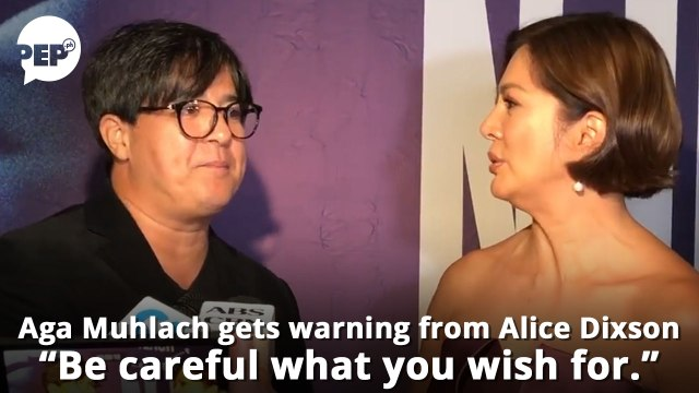 Aga Muhlach, gustong lumabas sa Ang Probinsyano; Alice Dixson, nagbabala sa kanya