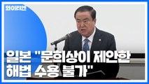 """日 """"문희상표 '강제동원 문제 해법' 받아들일 수 없어"""" / YTN"""