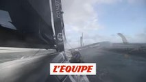 À bord d'Actual Leader - Voile - Brest Atlantiques