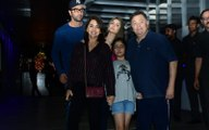 Rishi Kapoor asks paps to behave, says 'chilana nahi' as he steps out with Ranbir and family