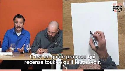 PAPIER CRAYON SPÉCIAL VIN  : Gwilherm de Cerval x Jean André