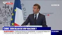 """Emmanuel Macron: """"Pendant plusieurs années, l'Union Européenne n'a pas été coordonnée dans sa politique chinoise"""""""