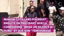 """Adèle Haenel victime """"d'attouchements sexuels"""" : Marion Cotillard partage un vibrant message de soutien"""