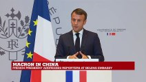 """Macron on Iran deal: """"The next few weeks will be dedicated to putting greater pressure on Iran"""""""