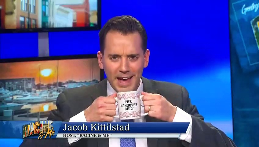 Local TV Host asked people to send him ugly coffee mugs for him to use on air… here is the result