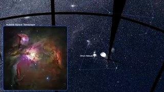 Panorama del cielo del sur con imágenes del cazador de mundos TESS