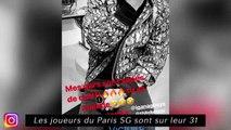 Les joueurs de Paris sont sur leur 31