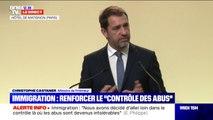 """Christophe Castaner: """"Nous ne toucherons pas au regroupement familial"""""""