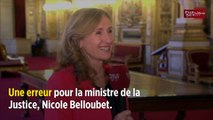 Violences sexuelles : Belloubet appelle Adèle Haenel à « saisir la justice »