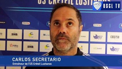 J13 USCL-FCVB : l'interview d'avant-match de Carlos Secretario